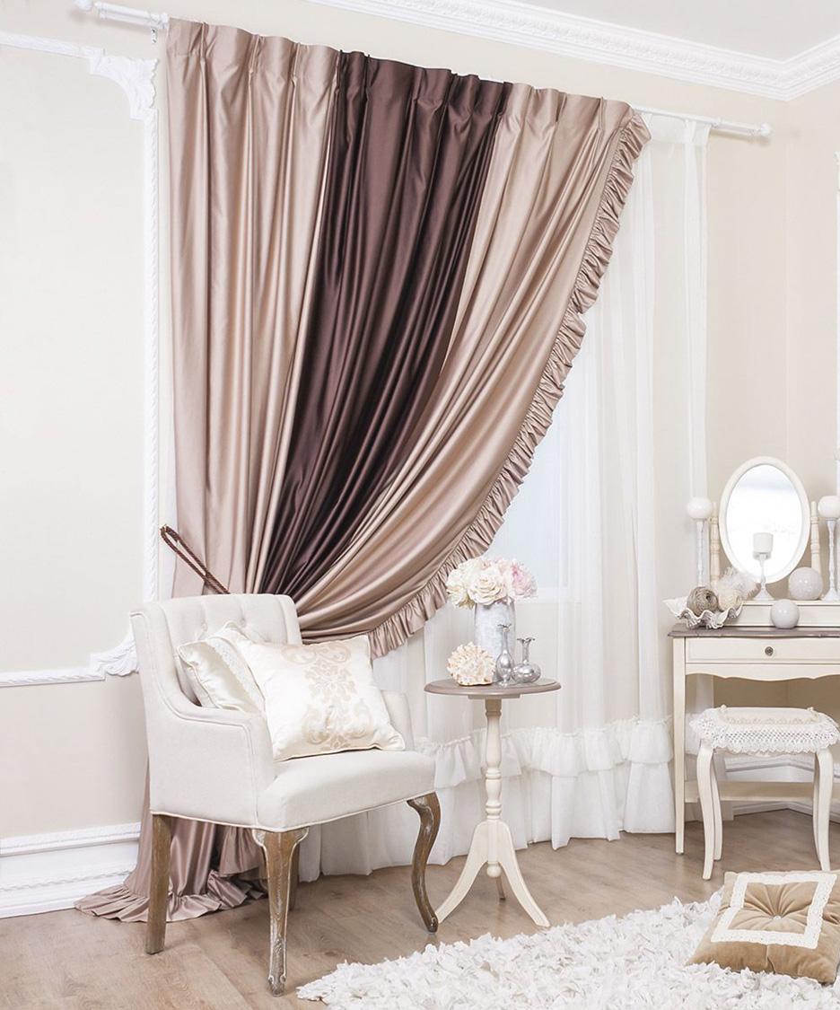 ассиметричные шторы для гостиной фото вариации
